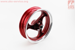 "D17 Диск литой передний MT3,5x13 ""VIPER - F1"" (ось 12мм) , УЦЕНКА (см. фото) Красный"