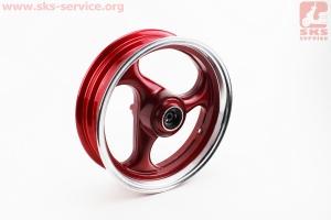 D17 Диск литой передний MT3,5x13 VIPER - F1 (ось 12мм) , УЦЕНКА (см. фото) Красный