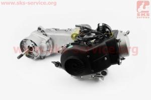 Двигатель скутерный в сборе 4Т-80куб (длинный вариатор, длинный вал)