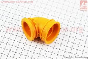 Патрубок фильтра воздушного Suzuki AD50, желтый для японских скутеров