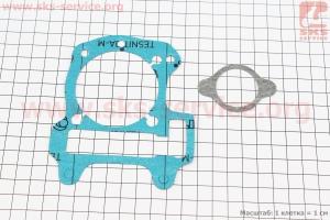 Прокладки поршневой к-кт 2шт Honda DIO AF68 (безасбест) 4Т для японских скутеров