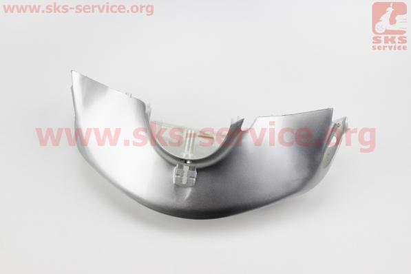 Honda DIO AF-34 пластик - руля передний голова, СЕРЫЙ