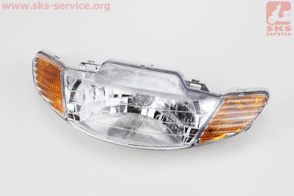 Honda DIO AF-34 фара в сборе, УЦЕНКА (отломано крепление)