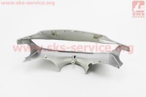 """Honda DIO AF-35 пластик - руля передний """"голова"""" (под низкую фару), СЕРЫЙ"""