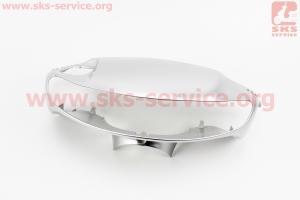 Honda DIO AF-35 пластик - руля передний голова (под низкую фару), СЕРЫЙ