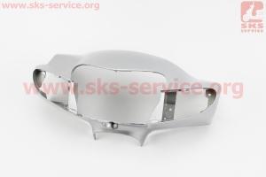 Suzuki LETS-III пластик - руля передний голова, СЕРЫЙ