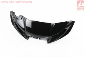 """Yamaha JOG NEXT ZONE пластик - руля передний """"голова"""" (под диск. тормоз), УЦЕНКА трещина (см. фото)"""