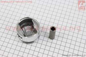 Поршень, кольца, палец к-кт 100cc 50мм STD (палец 13мм) для китайских скутеров на двигатель 50-100сс 4-Т