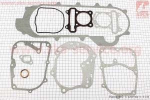 Прокладки двигателя к-кт 47мм-80cc (длинный вариатор) для китайских скутеров на двигатель 50-100сс 4-Т