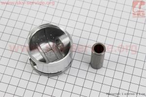 Поршень, кольца, палец к-кт 100cc 50мм +0,75 желтая коробка (палец 15мм) для китайских скутеров на двигатель 125,150сс 4-Т