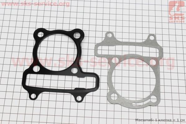 Прокладки поршневой к-кт 150cc (метал) для китайских скутеров на двигатель 125,150сс 4-Т