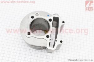 Цилиндр к-кт (цпг) 150cc-57,4мм (палец 15мм) для китайских скутеров на двигатель 125,150сс 4-Т