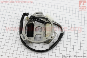 Статор магнето на двигатель TB50,65сс 2-T цепной вариатор (скутер)