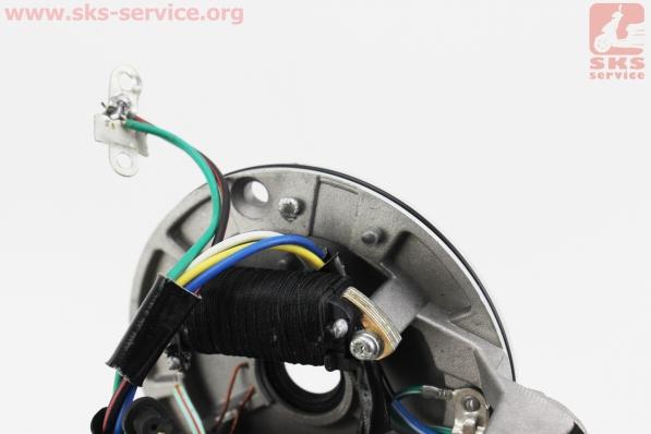 Статор магнето (на 2 катушки) тип.2 (на бесстартерный двигатель), УЦЕНКА (см.фото) для мопедов Delta (Viper)