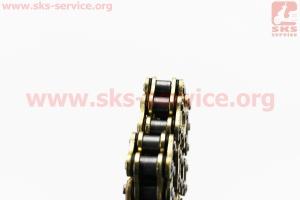 Цепь привода колеса 428Н*98L VX GOLD (с сальниками) для мопедов Delta (Viper)