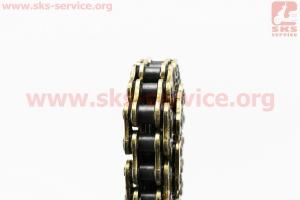 Цепь привода колеса 428Н*104L VX GOLD (с сальниками) для мопедов Delta (Viper)