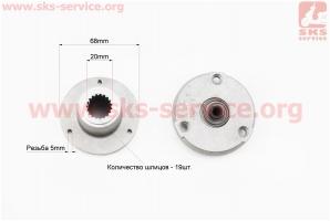 Фильтр масляный (две части) CB (большой) для мотоцикла VIPER-125-J (двигатель СВ-125сс-200сс)