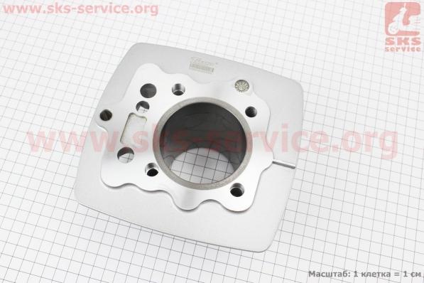 Цилиндр к-кт (цпг) 150сс-62мм (палец 15мм) для мотоциклетных двигателей CG125-200cc