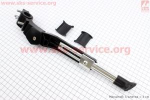 """Подножка боковая задняя телескопическая для 24""""- 28"""", крепление за перо рамы, алюминиевая SW-RA016J для велосипеда"""
