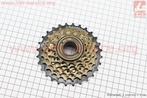 Вольнобег 6зв. 28,24,21,18,16,14Т MF-TZ 500 для велосипеда