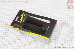 Рукоятки руля 125мм к-кт, черные VLG-311 для велосипеда