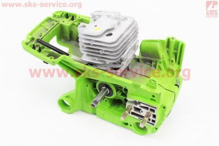 Блок двигателя в сборе для   китайских  бензопил 58cc 45,20мм