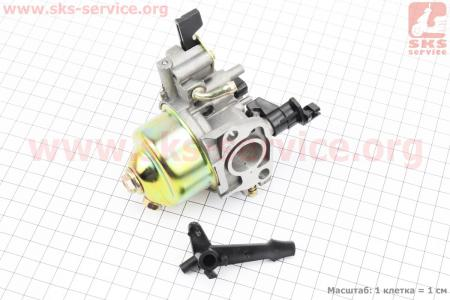 Карбюратор в сборе на двигатель 168F без отстойника З/ч для мотоблоков