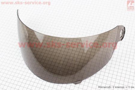 Стекло для шлема с подбородком тонированное