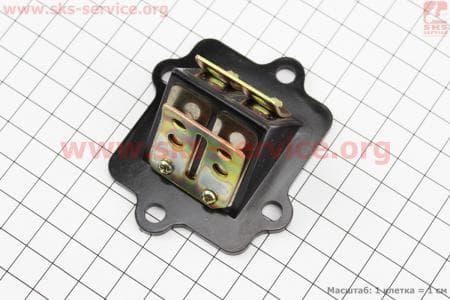Клапан лепестковый карбюратора для китайских скутеров двигатель 2-T ременной вариатор
